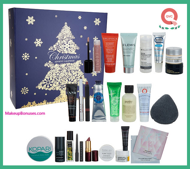 Beauty Christmas Advent Calendar- MakeupBonuses.com