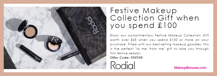 Receive a free 5-pc gift with your ~$133 (100 GBP) purchase