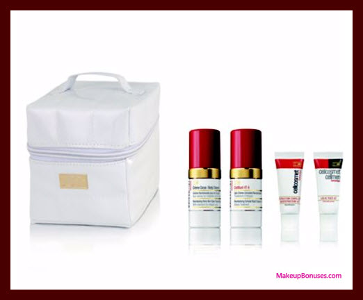 Receive a free 5-pc gift with your $500 Cellcosmet Switzerland purchase