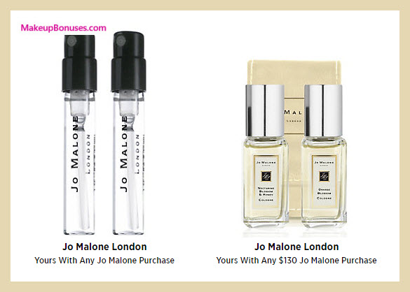Receive a free 4-pc gift with your $130 Jo Malone purchase