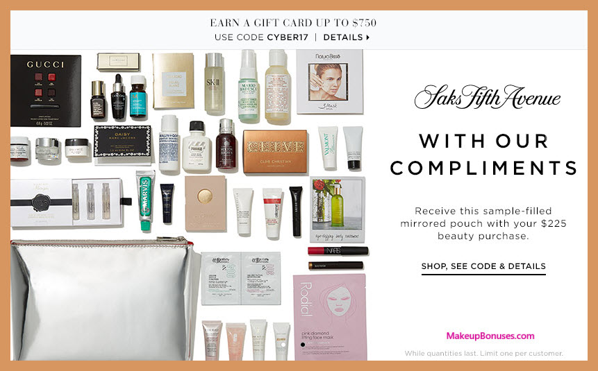 Receive a free 40-pc gift with your $225 Multi-Brand purchase