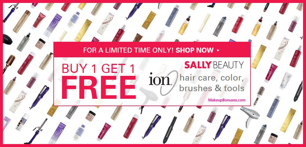 Receive a free 3-pc gift with your 3 ion® Hair Care, Hair Color, Styling Tools, Brushes & Combs purchase