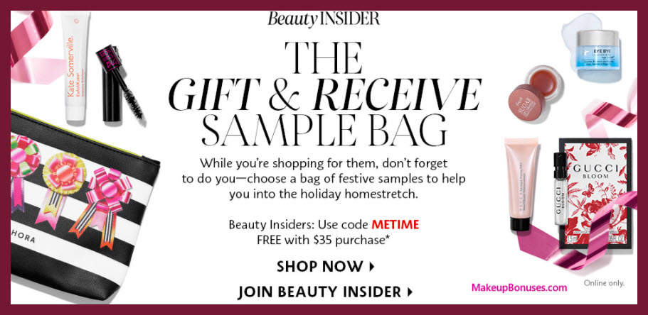 Receive your choice of 8-pc gift with your $35 Multi-Brand purchase