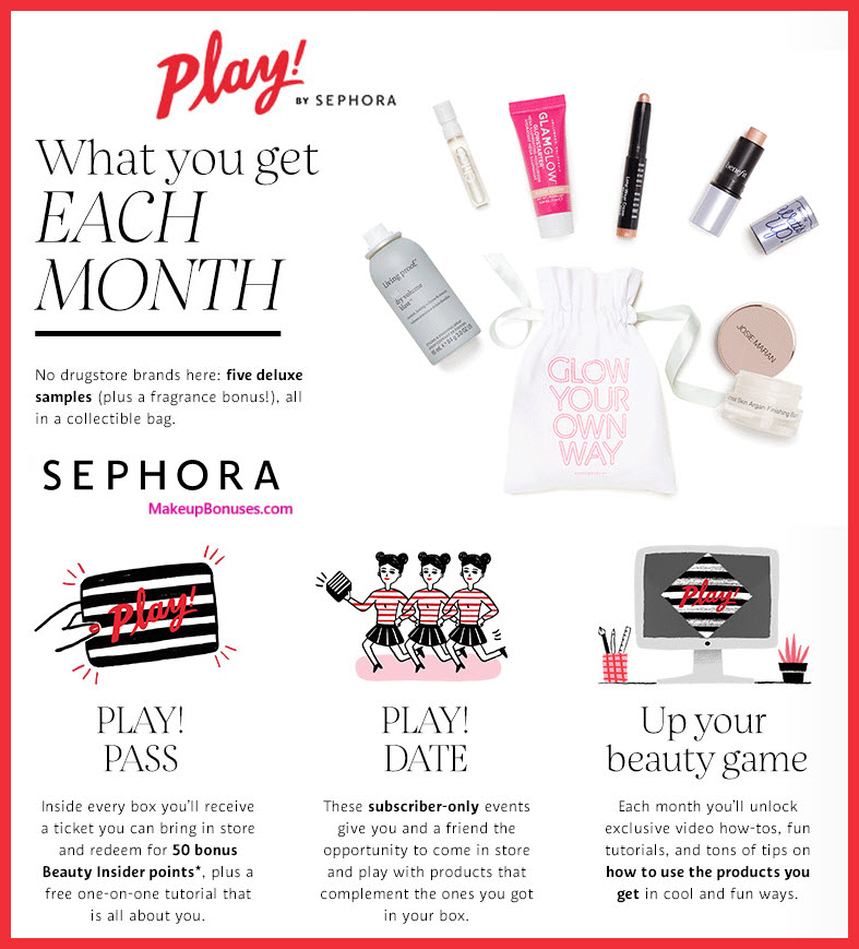 Sephora Play Beauty Box - MakeupBonuses.com