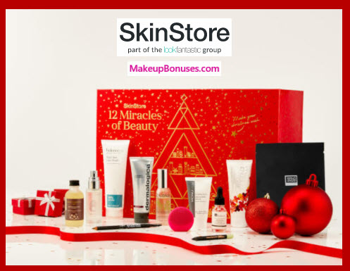 SKINSTORE'S 12 MIRACLES OF BEAUTY- MakeupBonuses.com