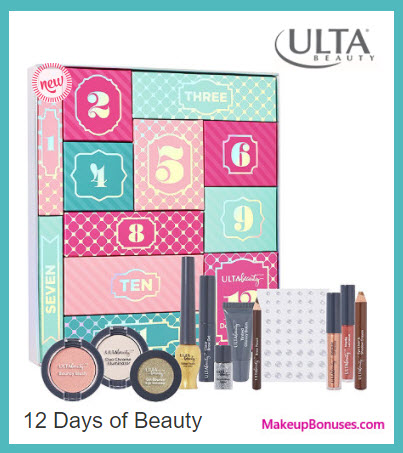 12 Days of Beauty- MakeupBonuses.com