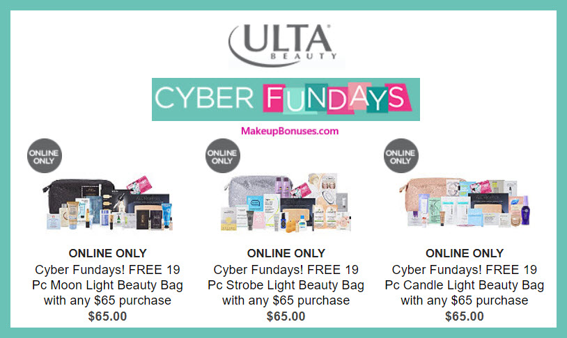 Receive your choice of 19-pc gift with your $65 Multi-Brand purchase