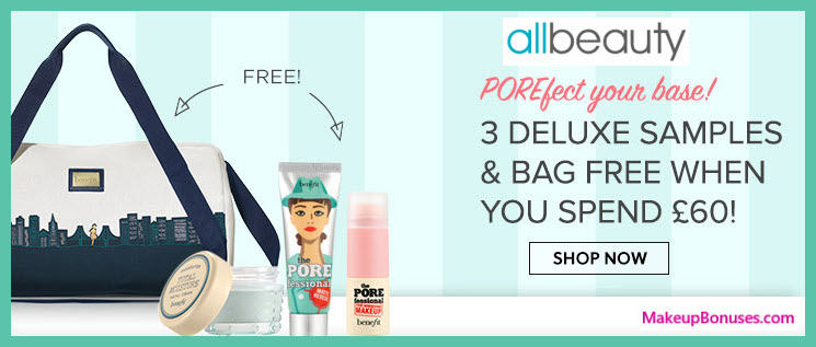 Receive a free 4-pc gift with your ~$79 (60 GBP) purchase