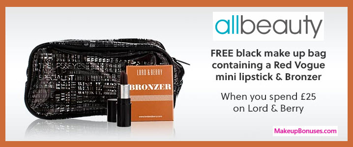 Receive a free 3-pc gift with your ~$34 (25 GBP) purchase