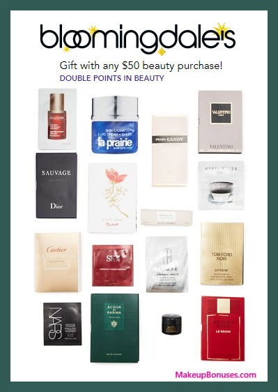 Receive your choice of 5-pc gift with your $50 Multi-Brand purchase