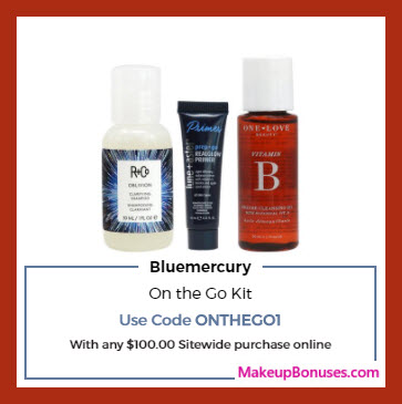 Receive a free 3-pc gift with your $100 Multi-Brand purchase