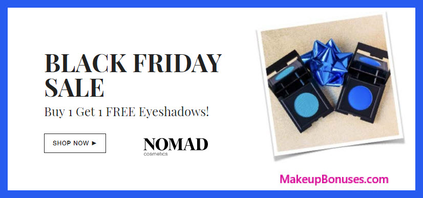 Receive a free 3-pc gift with your 3+ eyeshadows purchase