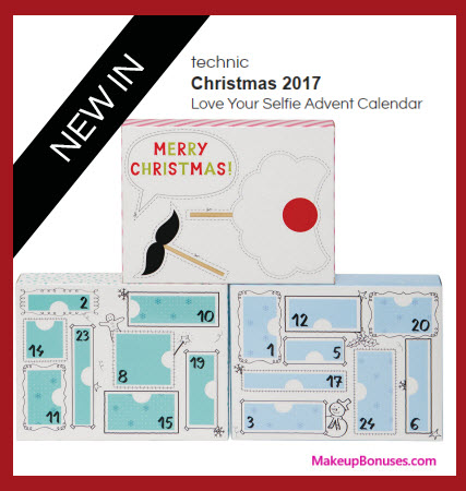 Love Your Selfie Advent Calendar- MakeupBonuses.com