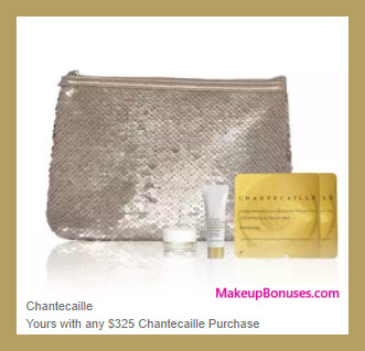 Receive a free 5-pc gift with your $325 Chantecaille purchase
