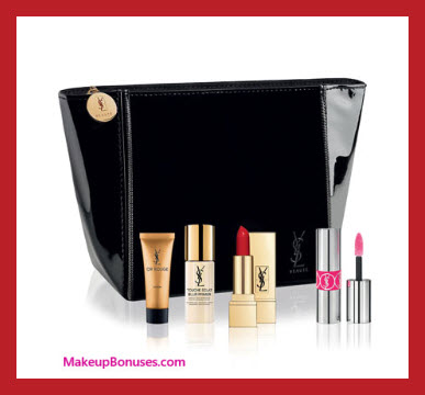 Receive a free 5-pc gift with your $50 Yves Saint Laurent purchase