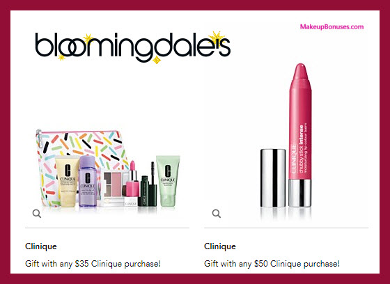 Receive a free 7-pc gift with your $35 Clinique purchase