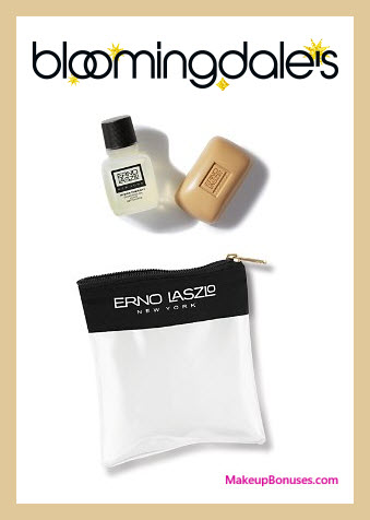 Receive a free 3-pc gift with your $100 Erno Laszlo purchase
