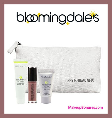Receive a free 4-pc gift with your $75 Juice Beauty purchase