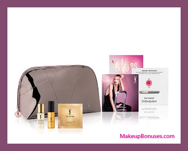 Receive a free 5-pc gift with your $125 Yves Saint Laurent purchase