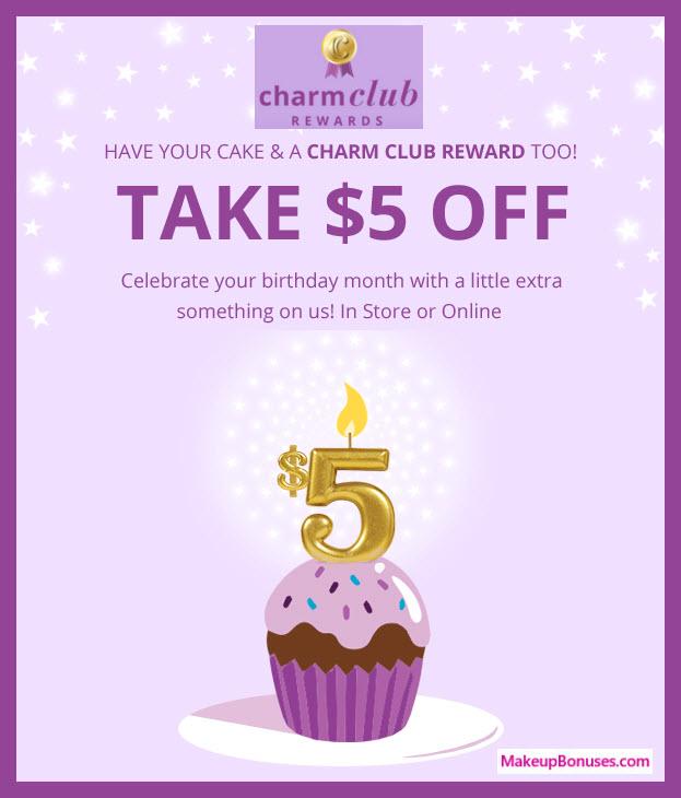 Charming Charlie Birthday Gift - MakeupBonuses.com #CharmingCharlie