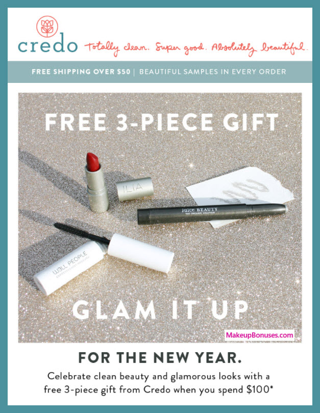Receive a free 3-pc gift with $100 Multi-Brand purchase