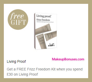 Receive a free 3-pc gift with your ~$41 (30 GBP) purchase