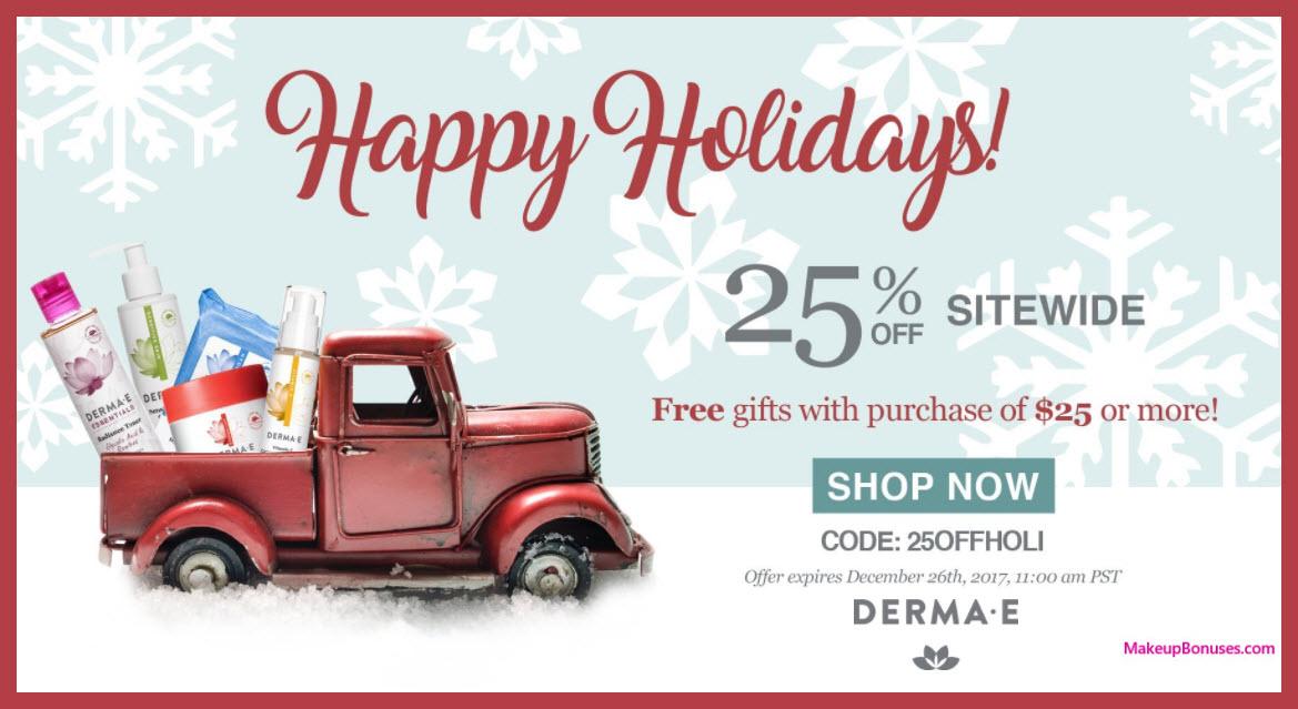 Derma E Sale - MakeupBonuses.com