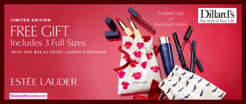 Receive your choice of 4-pc gift with $39.5 Estée Lauder purchase