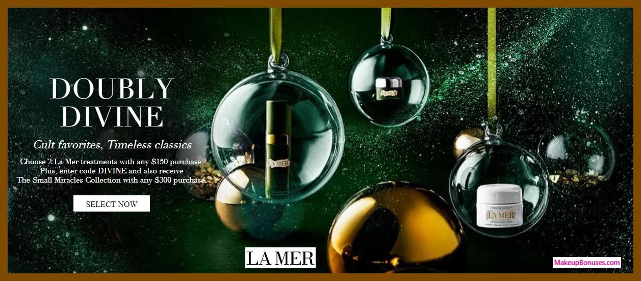 Receive your choice of 7-pc gift with your $300 La Mer purchase