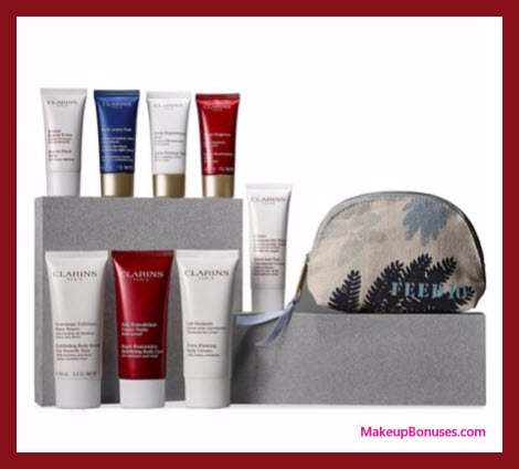 Receive your choice of 3-pc gift with your $75 Clarins purchase