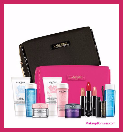 Receive your choice of 7-pc gift with your $49.5 Lancôme purchase