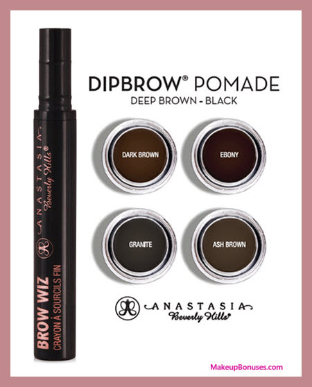 Receive a free 5-pc gift with your $50 Anastasia Beverly Hills purchase