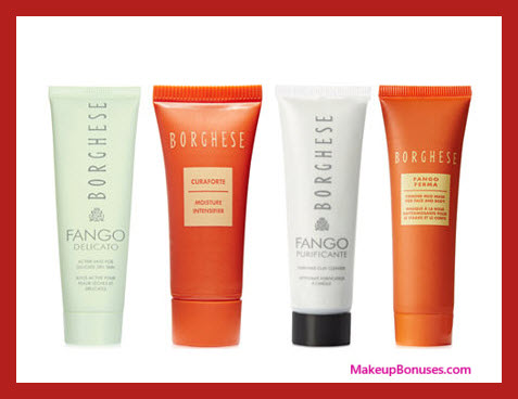 Receive a free 4-pc gift with your $40 Borghese purchase