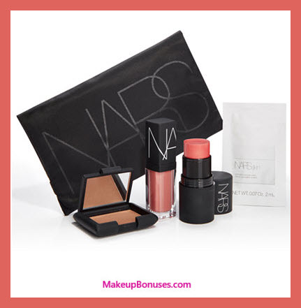 Receive a free 5-pc gift with your $125 NARS purchase