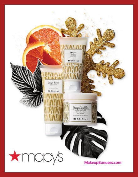 Receive a free 3-pc gift with your $75 Origins purchase