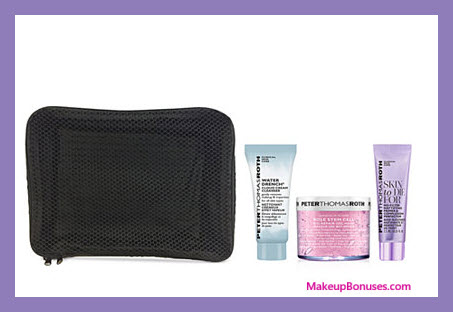 Receive a free 4-pc gift with your $40 Peter Thomas Roth purchase