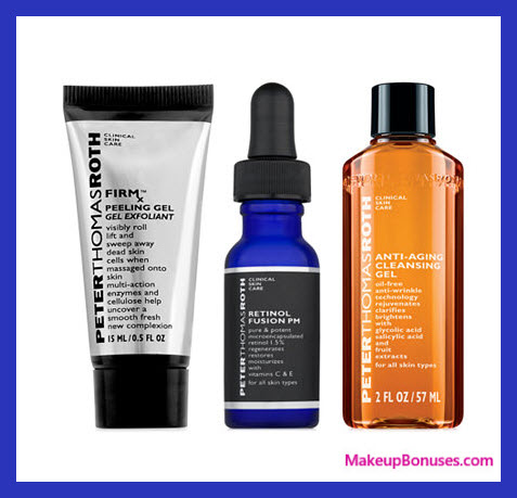 Receive a free 3-pc gift with $50 Peter Thomas Roth purchase