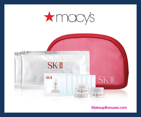 Receive a free 13-pc gift with $250 SK-II purchase