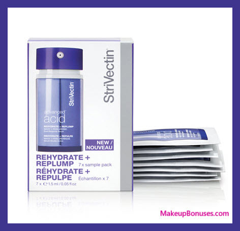 Receive a free 7-pc gift with $89 StriVectin purchase