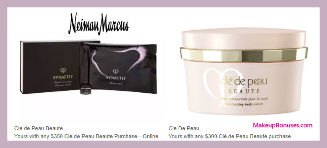 Receive a free 3-pc gift with your $350 Clé de Peau Beauté purchase