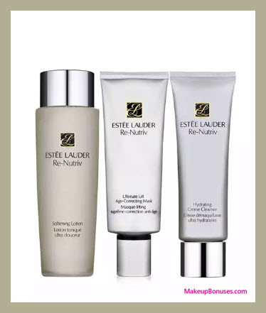 Receive a free 3-pc gift with your $125 Estée Lauder purchase