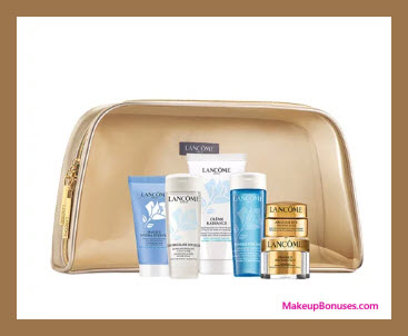 Receive a free 7-pc gift with your $100 Lancôme purchase