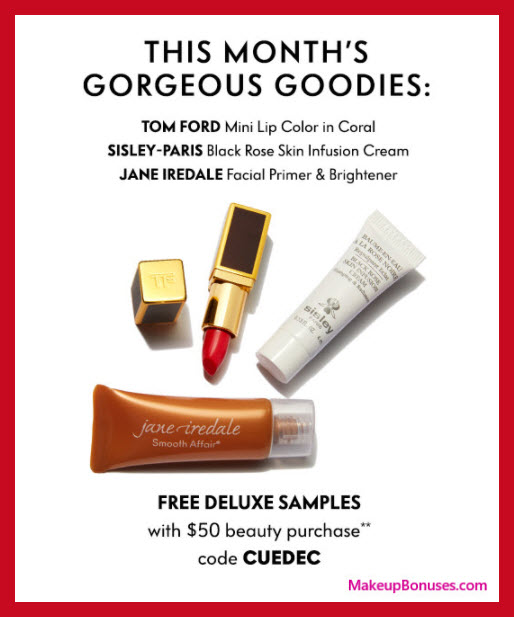 Receive a free 3-pc gift with your $50 Multi-Brand purchase