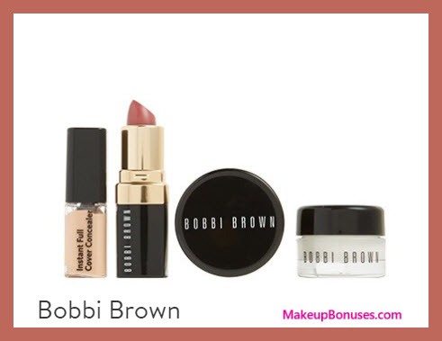 Receive a free 4-pc gift with your $85 Bobbi Brown purchase