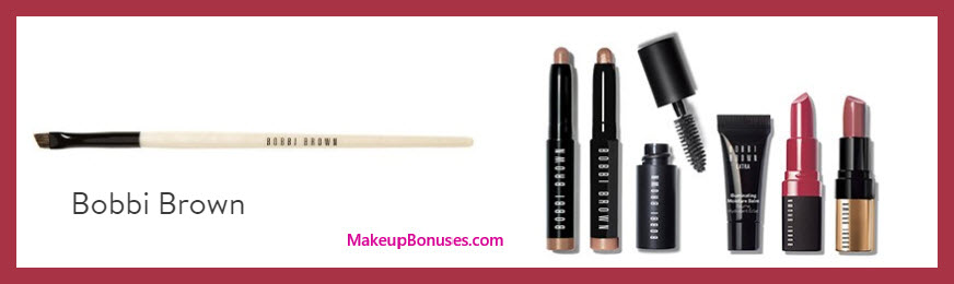 Receive a free 7-pc gift with your $75 Bobbi Brown purchase