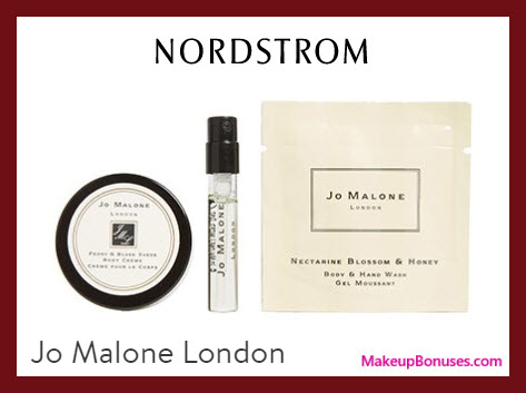 Receive a free 3-pc gift with $50 Jo Malone purchase