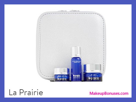 Receive a free 4-pc gift with your $400 La Prairie purchase