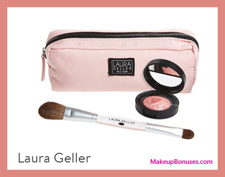 Receive a free 3-pc gift with your $50 Laura Geller purchase
