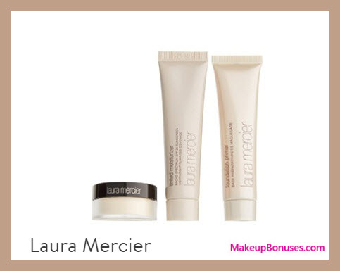 Receive a free 3-pc gift with your $125 Laura Mercier purchase
