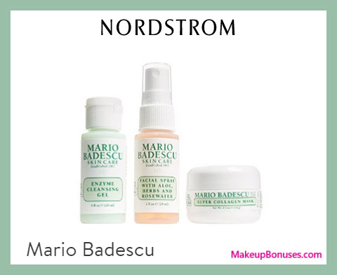 Receive a free 3-pc gift with $45 Mario Badescu purchase